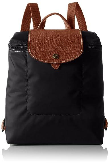 Longchamp Women 1699089 NOIR Backpack  Amazon.co.uk  Shoes   Bags 181ade0ef3ad4