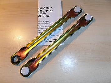 Chevrolet Captiva, Opel Antara Motor para limpiaparabrisas Linkage de barra de empuje Set WIPEX kitno. 32: Amazon.es: Coche y moto
