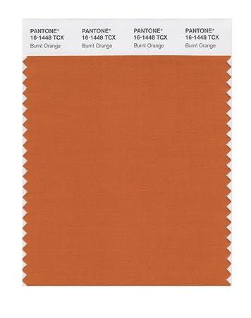 PANTONE SMART 16 1448X Color Swatch Card, Burnt Orange