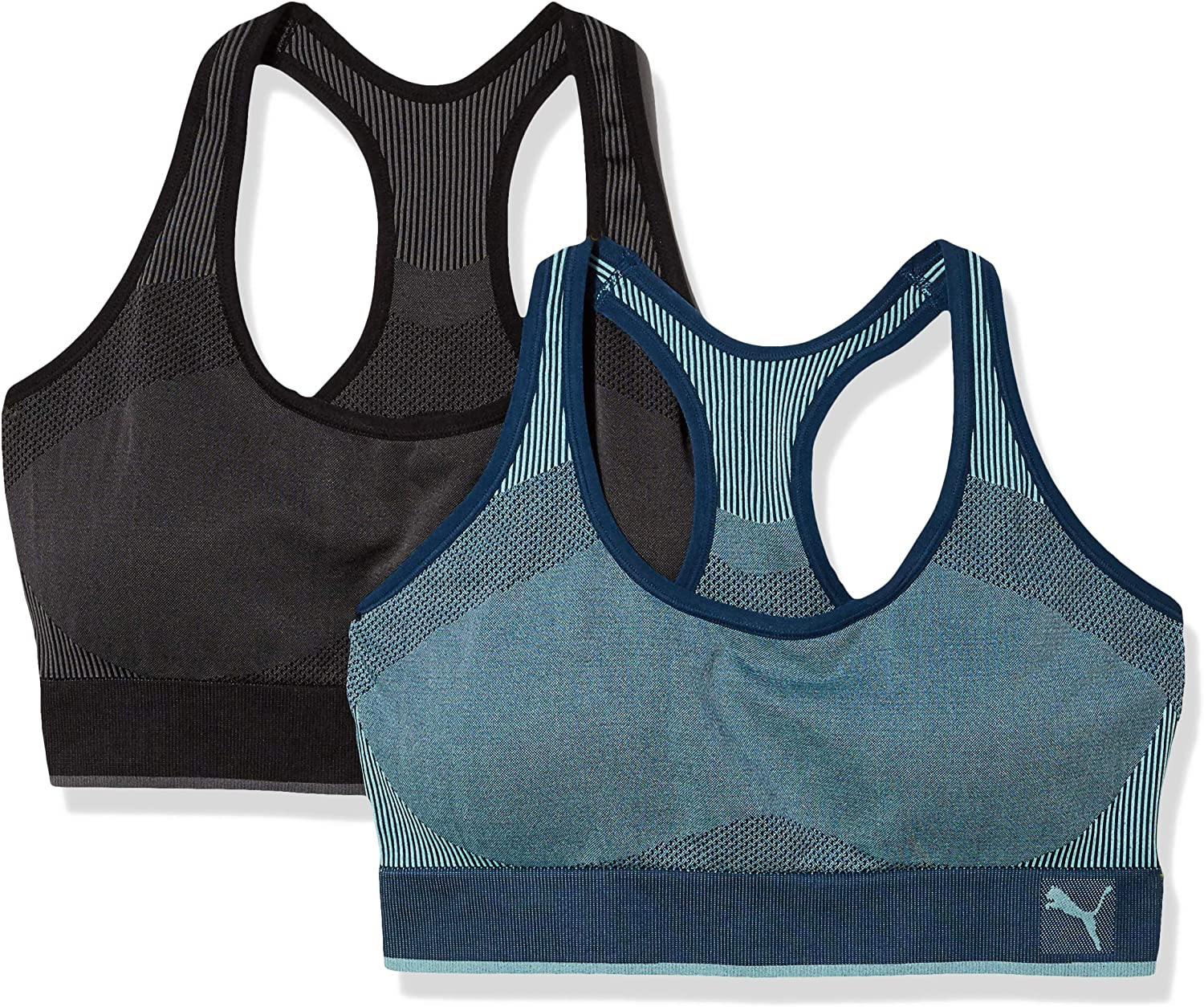 PUMA Women's Seamless Bra at  Women's Clothing store