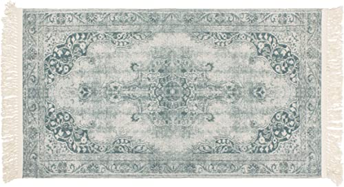 French Connection Montana Vegetable Dyed Cotton Accent Rug