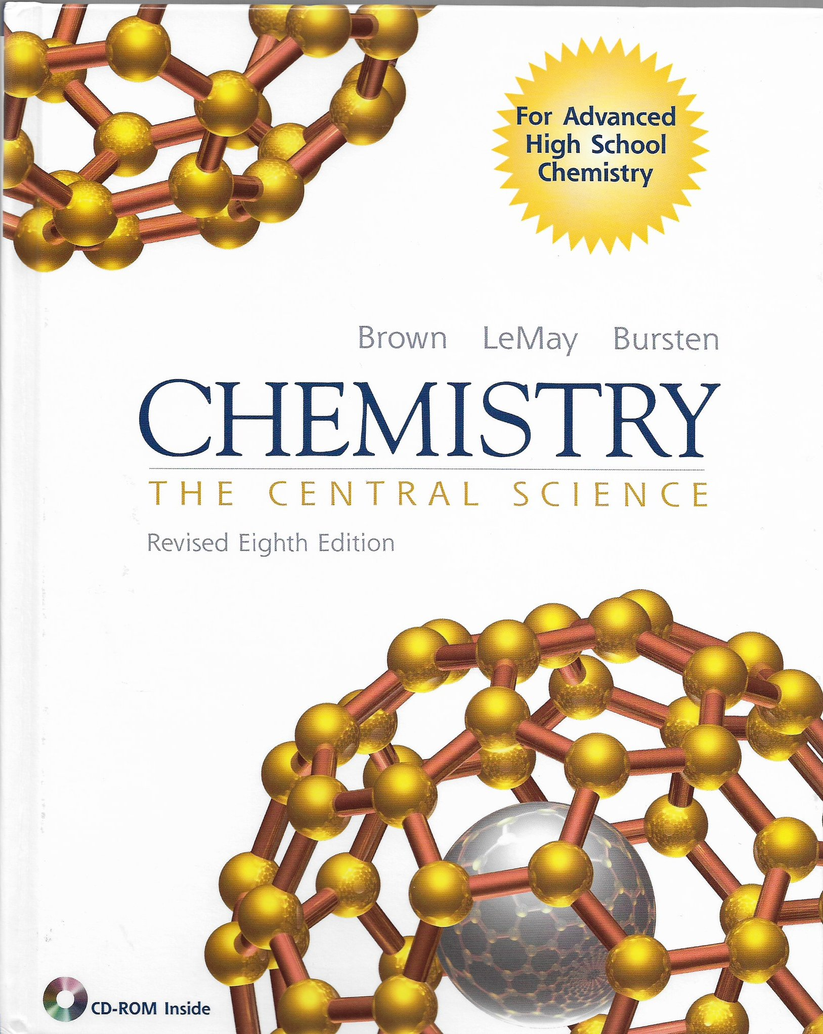 Chemistry : The Central Science: Theodore E. Brown, H. Eugene LeMay, Bruce  E. Bursten: 9780130611420: Amazon.com: Books