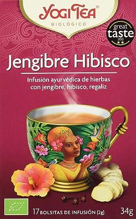 Yogi Tea Jengibre - Paquete de 6 x 17 Sobres - Total: 102 Sobres