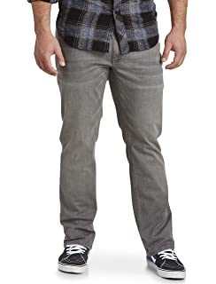 7c992038 True Nation by DXL Big and Tall Athletic-Fit Stretch Jeans at Amazon ...