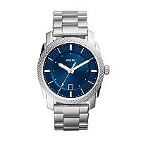 Men's Machine Stainless Steel Quartz Watch