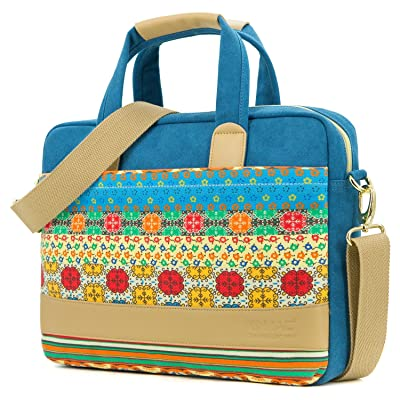 293cfaefd15a Kinmac Canvas laptop case shoulder messenger bag (14 inch   macbook pro 15  retina