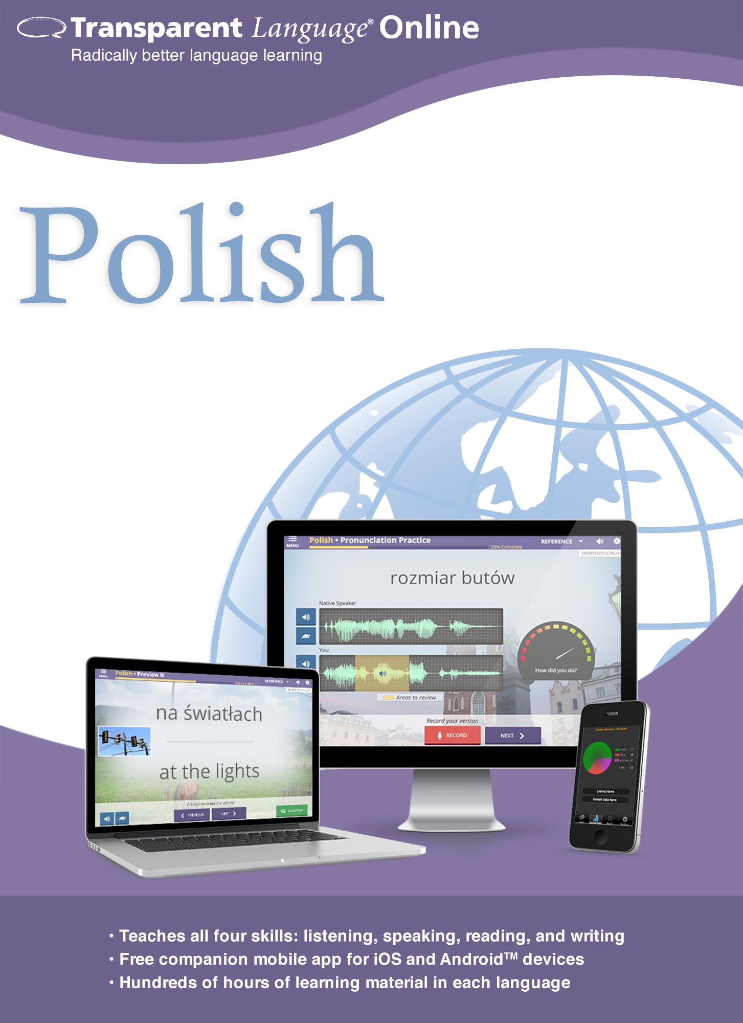 Transparent Language Online - Polish - 12 Month Subscription for Mac [Online...