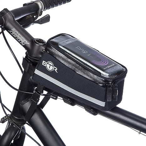 BTR Bolsa Bicicleta, Bolsa para Bici ubo Superior de Cuadro de ...