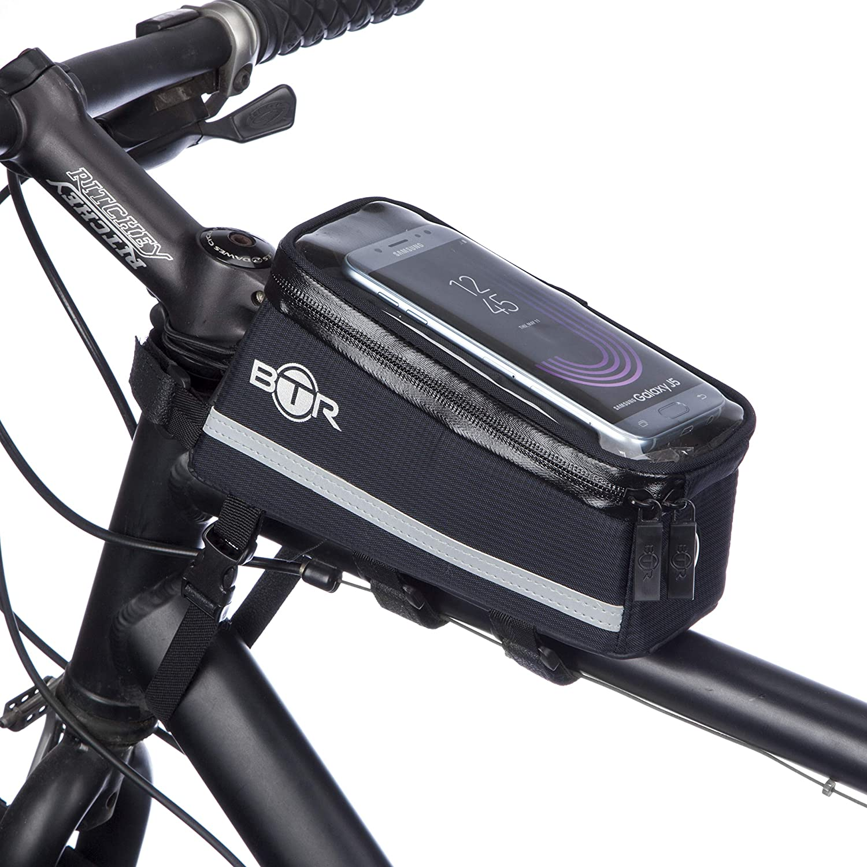 Btr Fahrrad Handyhalterung Deluxe Fahrrad Tasche Handy Halterung Lenkertasche Rahmentasche Wasserdicht Handyhalterung Fahrrad Mit Regenschutz Bekleidung