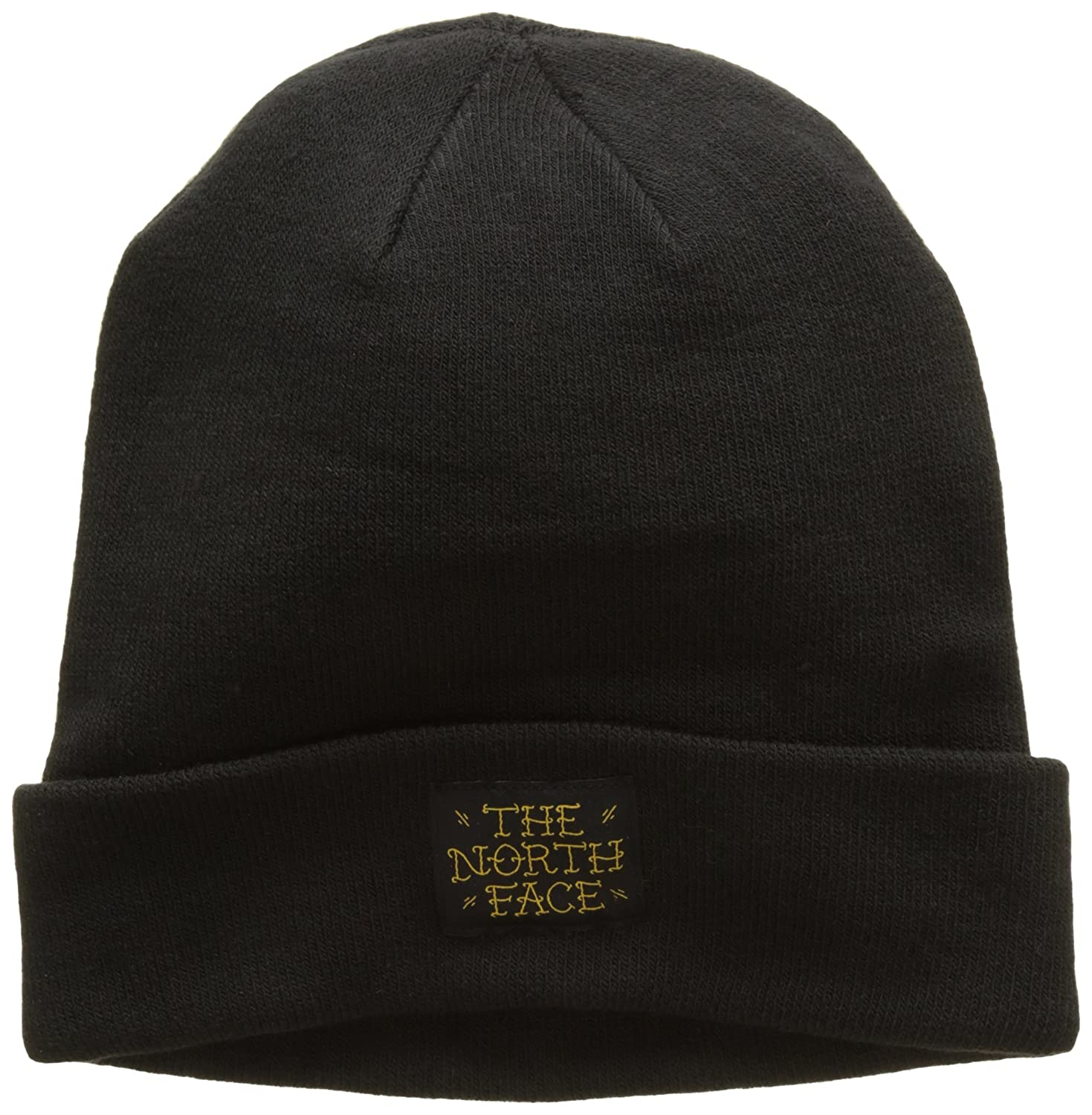 THE NORTH FACE Dock Worker - Bonnet - Mixte Tnf Black/Arrowwood Yellw NOS67 #The North Face T0CLN5UJF. OS