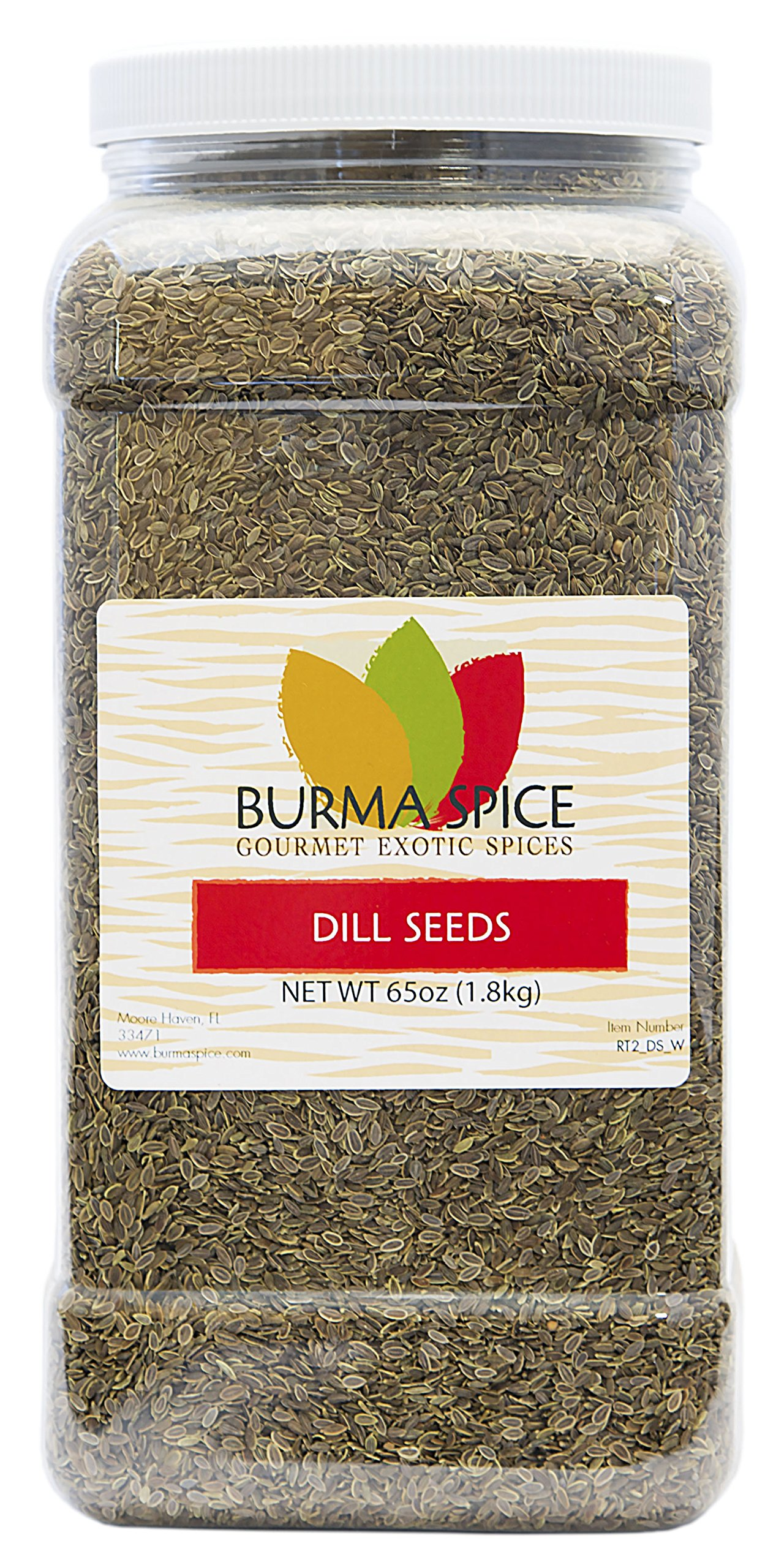 Dill Seeds : Dried Whole Kosher Herb : Great for Pickling Spice (65oz.)