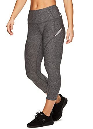 a855efa55a17e Rbx Active Women's Solid Running Workout Yoga Leggings - Grey - Large