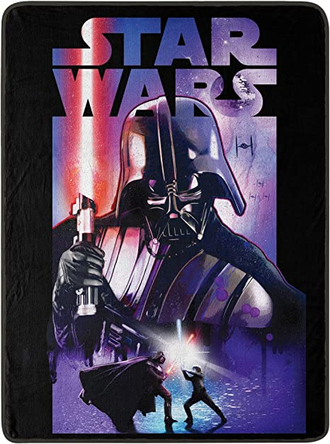 """Star Wars The Force Awakens Rebel Fighters Super Soft Throw Blanket 46/""""x 60/"""" in"""