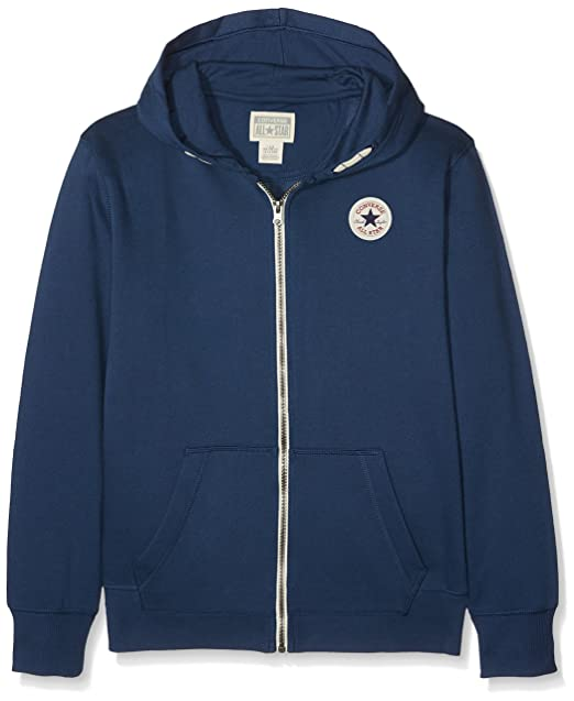 5475e278fd2c Converse Core Chuck Taylor Patch Hoodie - All Star Navy - 3-4 Years ...