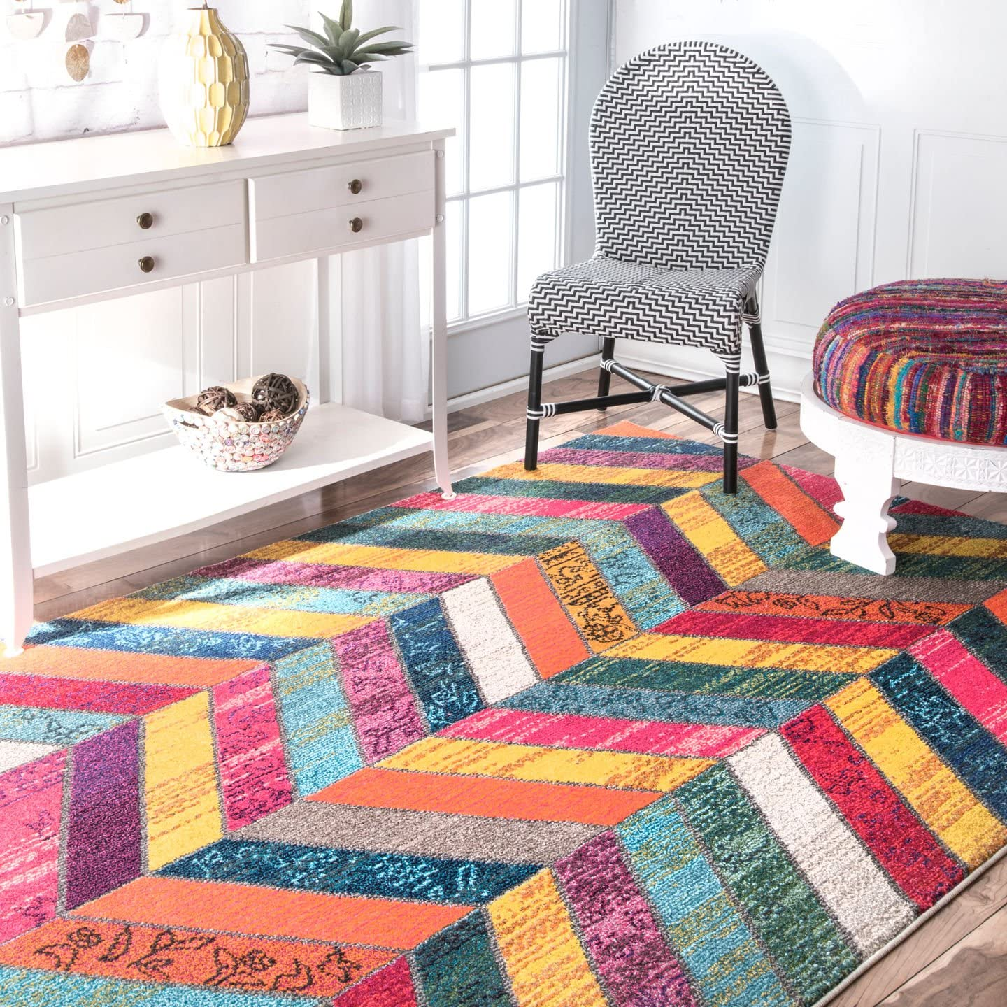 nuLOOM Chevron Kennedy Area Rug