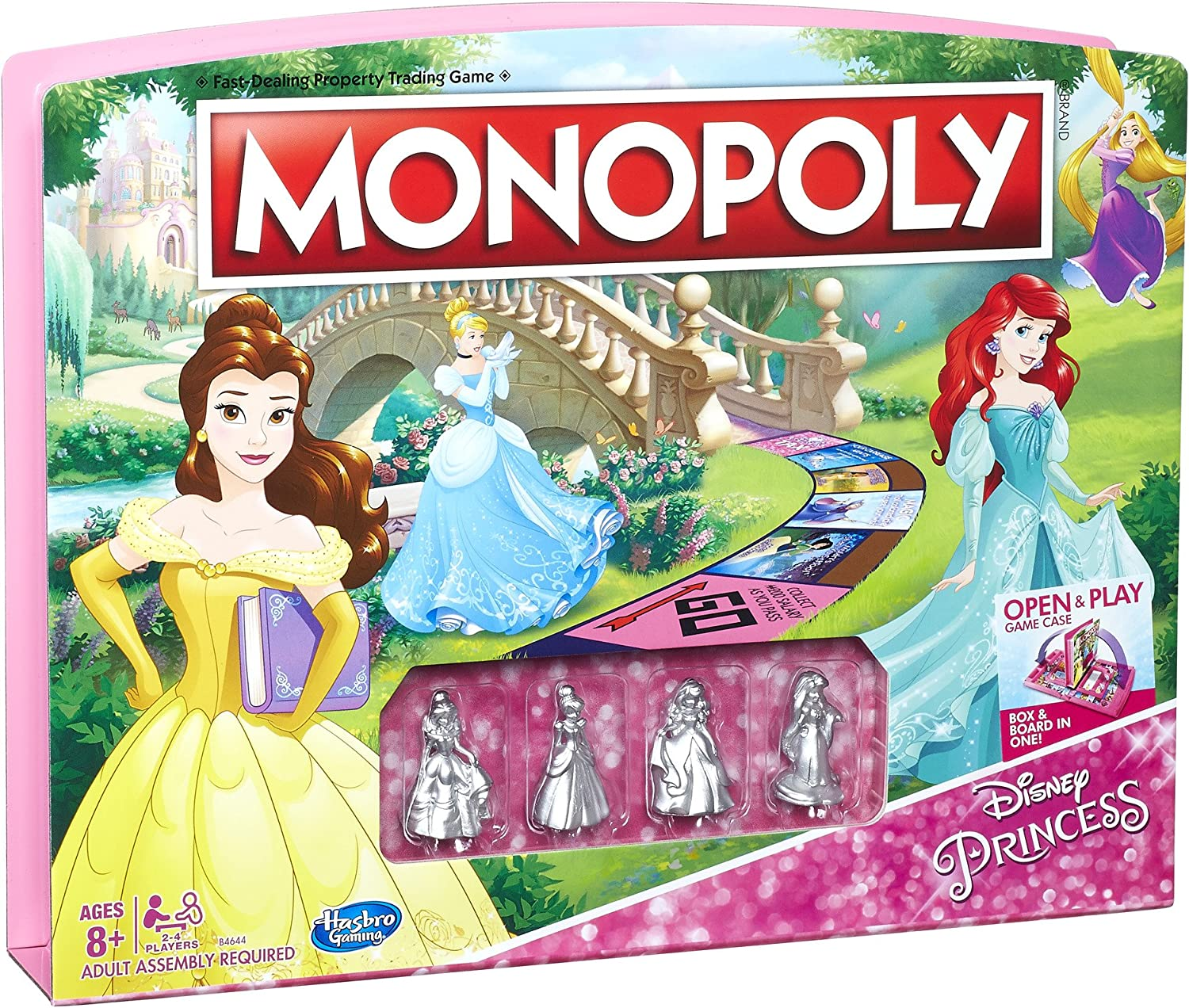 Monopoly Game Disney Princess Edition: Amazon.es: Juguetes y juegos