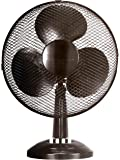St@llion 3 Speed 12-Inch Oscillating Desk Fan