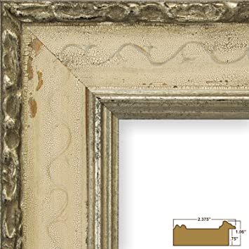 Amazon Craig Frames Bolshoi Antique Silver French Country