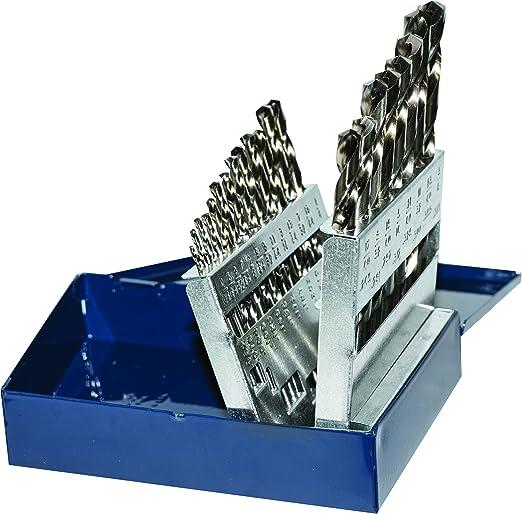 Century Drill /& Tool 26129 Pro Grade Cobalt Drill Bit Set 29-Piece
