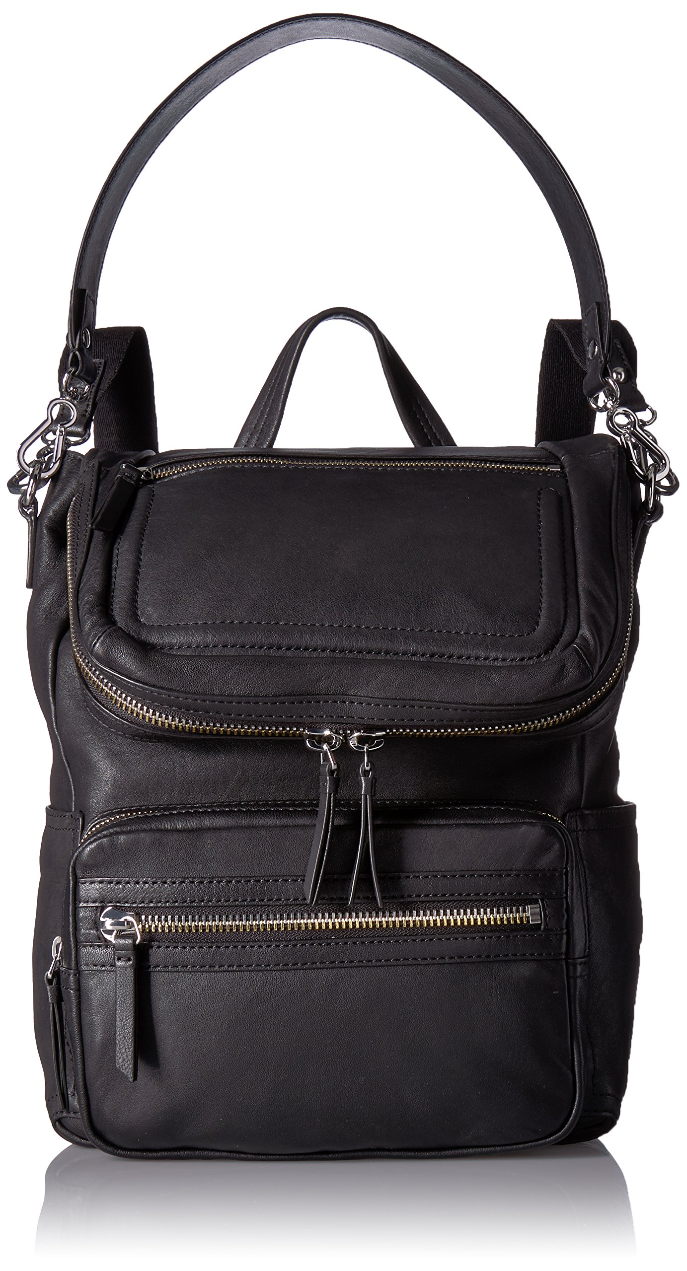 Vince Camuto Patch Backpack Backpack, NERO, One Size