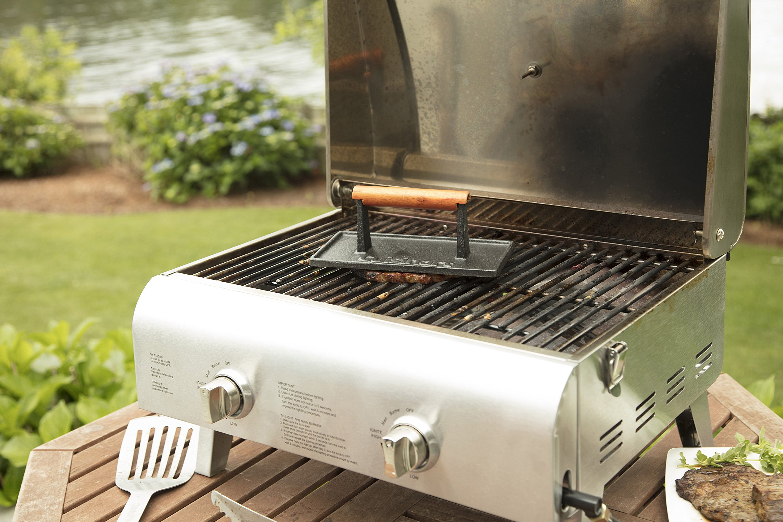 Cuisinart CGPR-221 Cast Iron Grill Press by Cuisinart (Image #3)