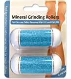 Refill Rollers for Care me Callus Remover - Two Super Coarse Rollers for Hard Skin & Calluses on Foot - Suitable for All Types of Skin- pack of 2 -Back in Stock on Aug 20