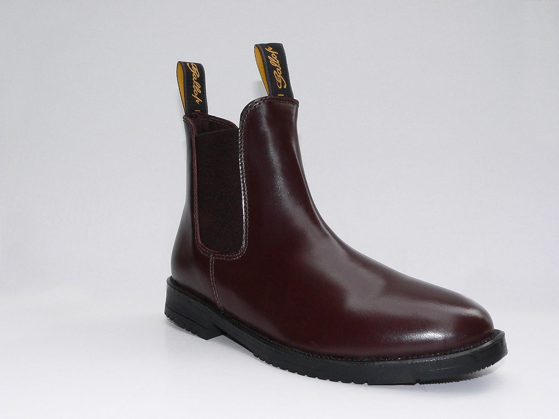 Gallop Black Classic Leather Jodhpur Boots
