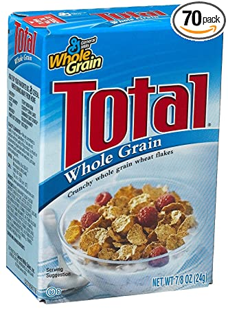 amazon com general mills total cereal 0 88 ounce single packs