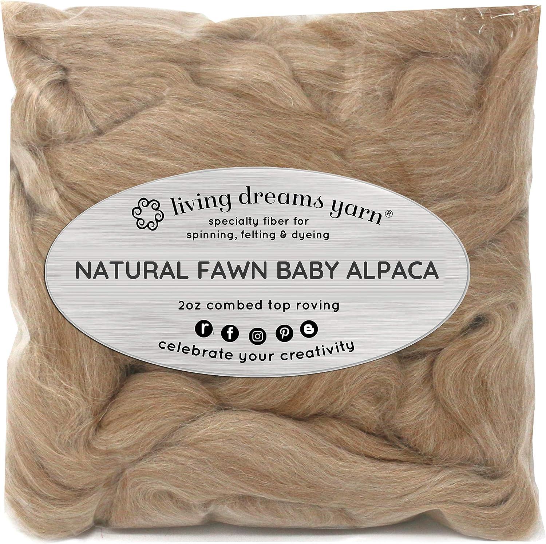 100% fibra de alpaca pura para Spinning, mezcla, fieltro, teñido y ...