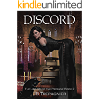 Discord: A Paranormal Reverse Harem Romance (The Library of the Profane Book 2)