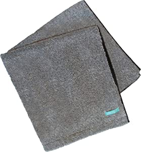 FACESOFT Charcoal-Detox Bath Towel: Naturally Infused with Activated Charcoal | Detox Your Skin | Free of MicroFibers