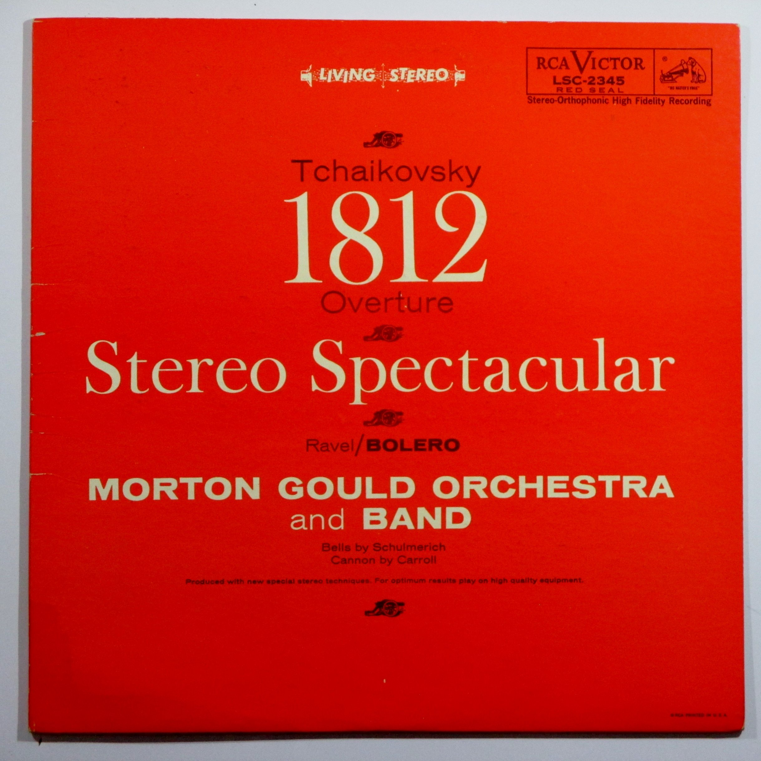 Stereo Spectacular: 1812 Overture / Bolero by RCA Victor Red Seal