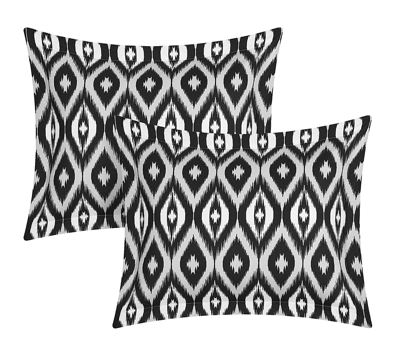 Chic Home 3 Piece Normani Reversible Ikat Diamond and Contemporary Geometric Pattern Print Technique Twin Duvet Cover Set Aqua DS2918-AN