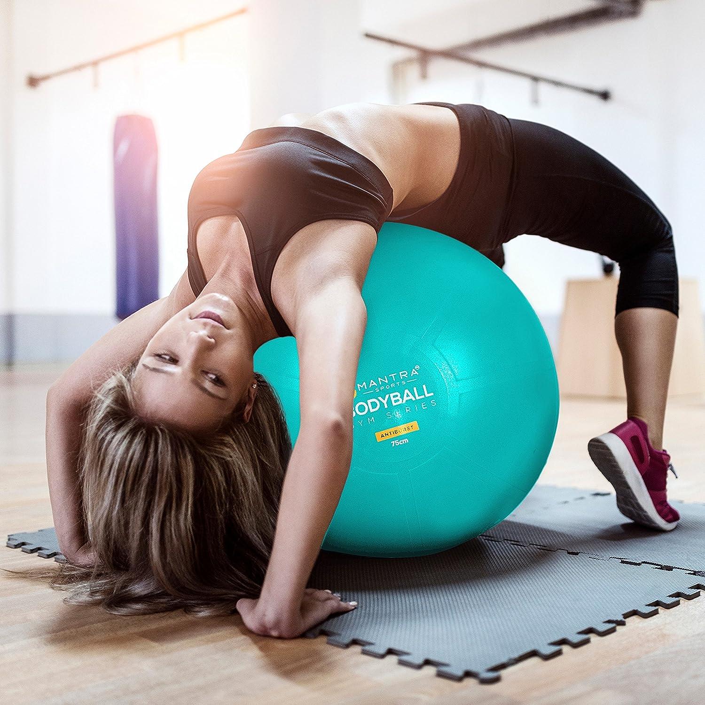 Mua sản phẩm Exercise Ball Chair 65cm & 75cm Yoga Fitness Pilates #1: 91IBVWn g6L SL1500