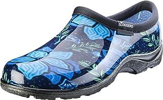 product image for Sloggers Women's Waterproof Rain Garden Shoe Comfort Insole, Spring Surprise Blue, Size 10, Style 5118SSBL10