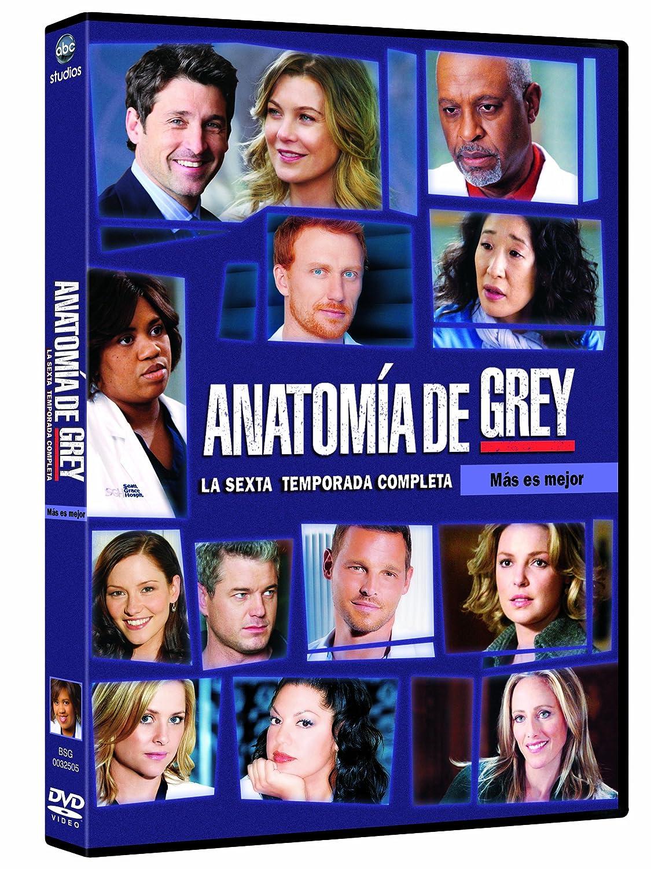 Anatomía De Grey - 6ª Temporada [DVD]: Amazon.es: Ellen Pompeo ...