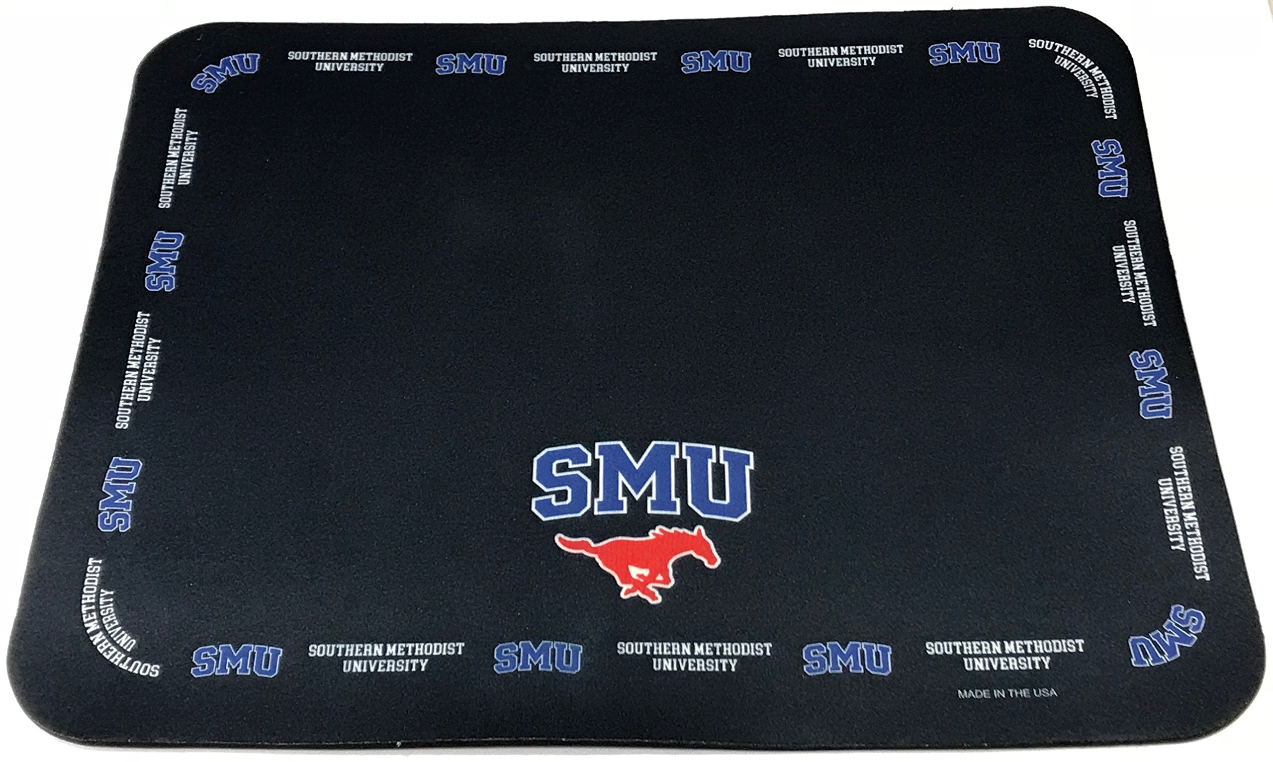 NCAA Collegiate Placemats - Southern Methodist University SMU Mustangs - Set of 4