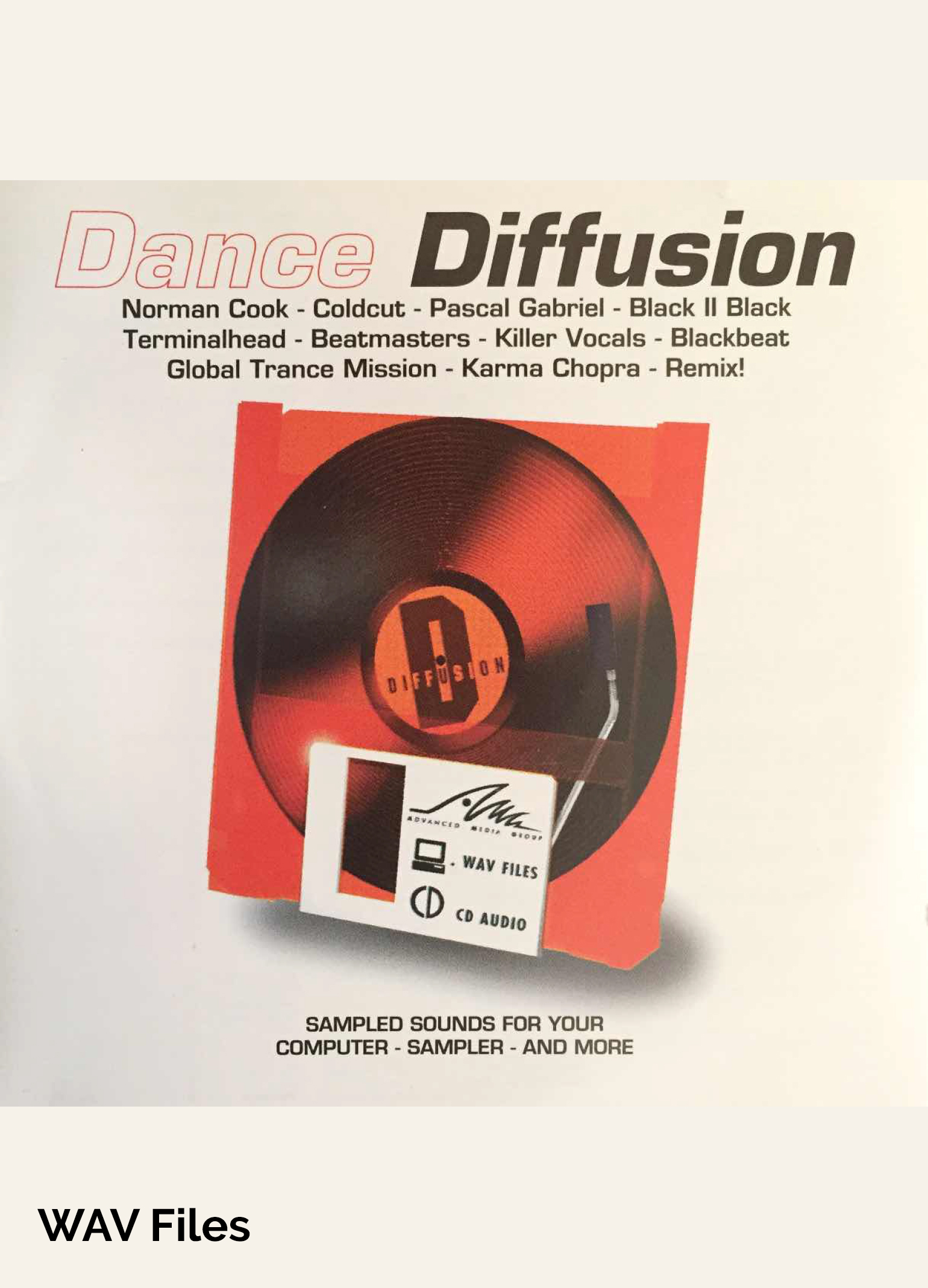 Dance Diffusion - Dance Sample Library at Special Low Price - WAV Files [Download]