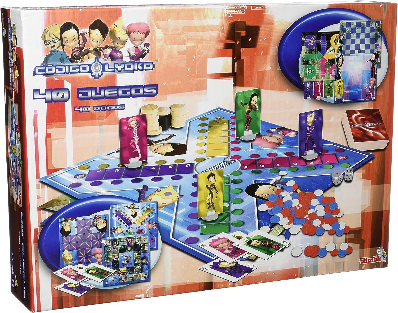 Simba - Codigo Lyoko 40 Juegos Reunidos: Amazon.es: Juguetes y juegos