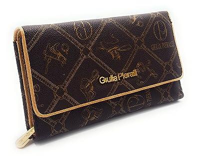 a8e5ae87858df RG  178 Giulia Pieralli Damen Glamour Geldbeutel Geldbörse Portemonnaie XXL  Kunstleder