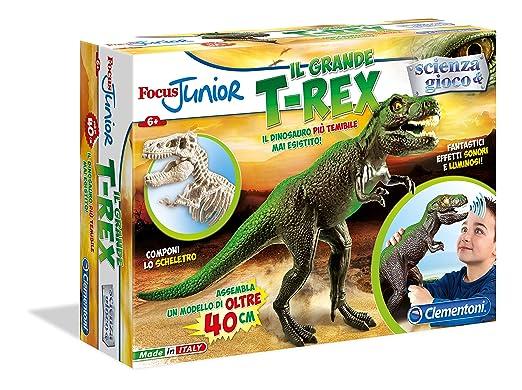 Clementoni 13818 - Focus Junior Focus - Triceratops grande: Amazon.es: Juguetes y juegos