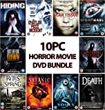 Movie Mania Binge Fest 10PC Horror DVD Bundle - Assorted Titles Rated 12-18+yrs - Brand New