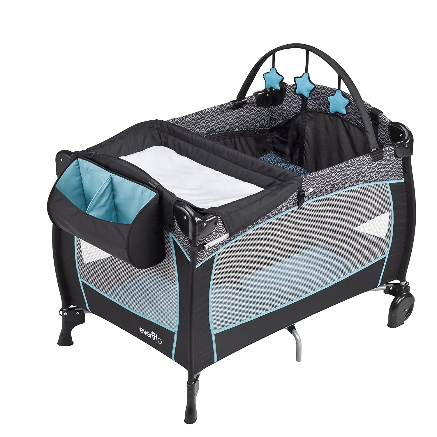 Amazon Evenflo Portable Babysuite Deluxe Playard Koi Baby