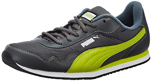 bdd14636cd30 Puma Men s Street Rider DP Turbulence and Lime Punch Boat Shoes - 9 UK India