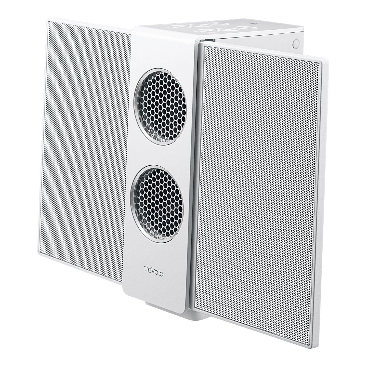 BenQ treVolo S Wireless Bluetooth Portable Electrostatic Speaker, 3D, NFC,  18 hr playing time, with Electrostatic Technology – White