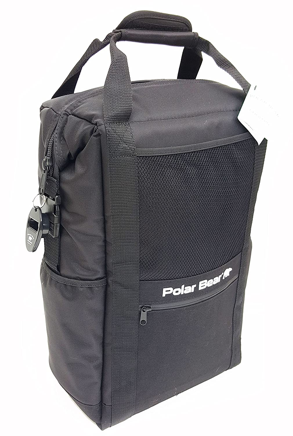 Polar Bear Coolers Soft Cooler, nero