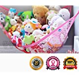 Amazon Price History for:MiniOwls Toy Storage Hammock X-Large Organizer in PINK, Best De-cluttering Solution & Inexpensive Idea for Every Room at Home or Facility - 3% is Donated to Cancer Foundation (pink, xl)