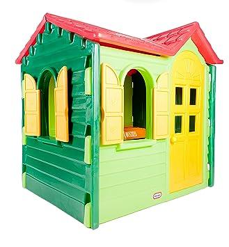 Little Tikes 440s00060 Spielhaus Country Grün Amazonde Spielzeug