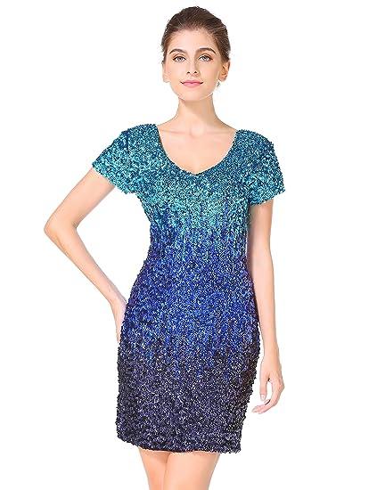 Review MANER Women's Sequin Glitter