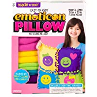 "Made By Me Make Your Own Jumbo Emoticon Pillow by Horizon Group USA, Multicolored, Pillow 20"" x 20, Assorted"